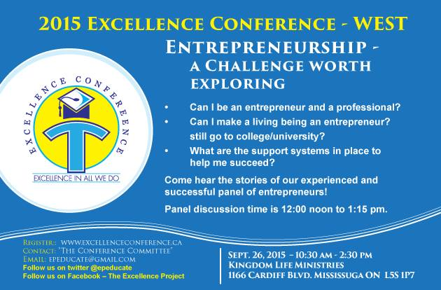 Excellence Conference Flyer