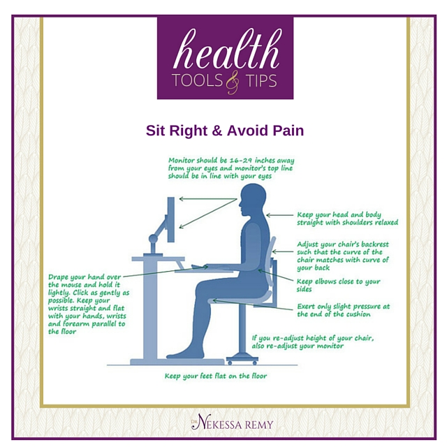 Sit Right & Avoid Pain