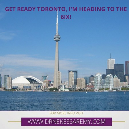 Heading to the 6ix…2 weeks and counting!!!