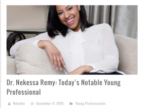 Young Professional Spotlight at Noteable.ca!