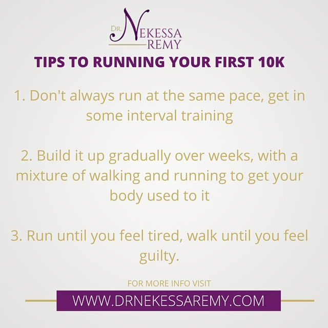 My journey to running a 10k